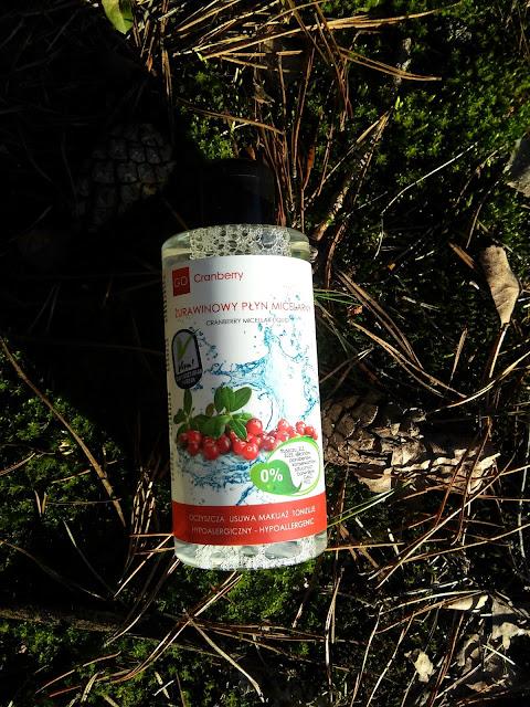 Go Cranberry, Żurawinowy płyn micelarny