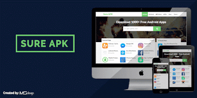 Sure APK Free Blogger Template