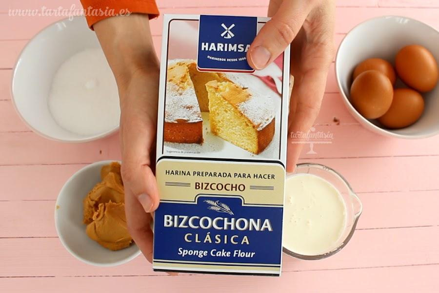Ingredientes Harina Harimsa Bizcochona Clásica
