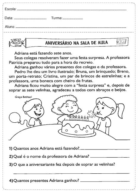 Baixe Atividades Português em PDF