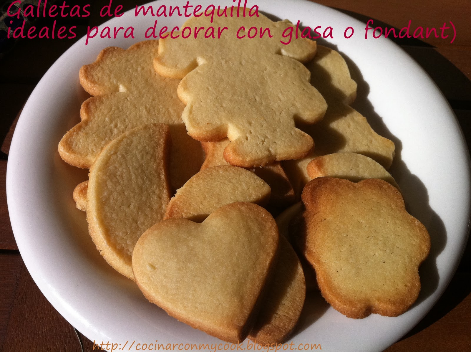 Galletas Thermomix Para Decorar Cocinar Con Mycook Galletas De Mantequilla Ideales Para