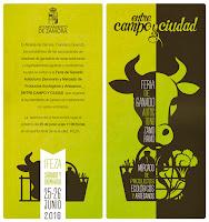 """Feria """"entre campo y ciudad"""" - Invitacion"""