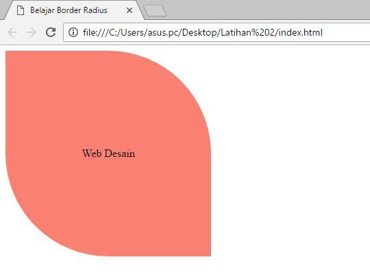 Cara membuat border radius pada css3 dengan mudah