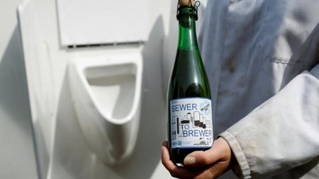 Unbelievable! Scientists Use Solar-powered Machine to Turn Urine Into Beer