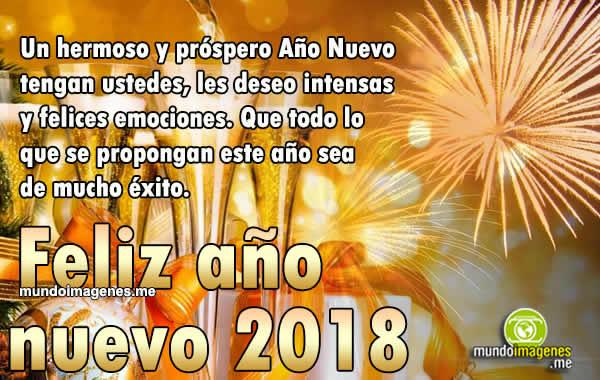 Mensajes de año Nuevo 2018