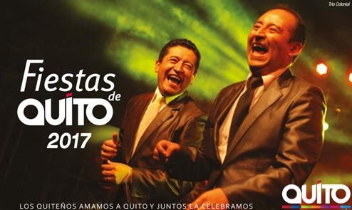 Programa completo fiestas de Quito 2017