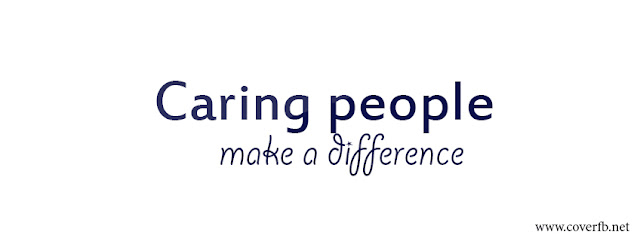 Caring People Make A Difference Facebook covers