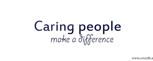 Caring People Make A Difference Facebook cover timeline