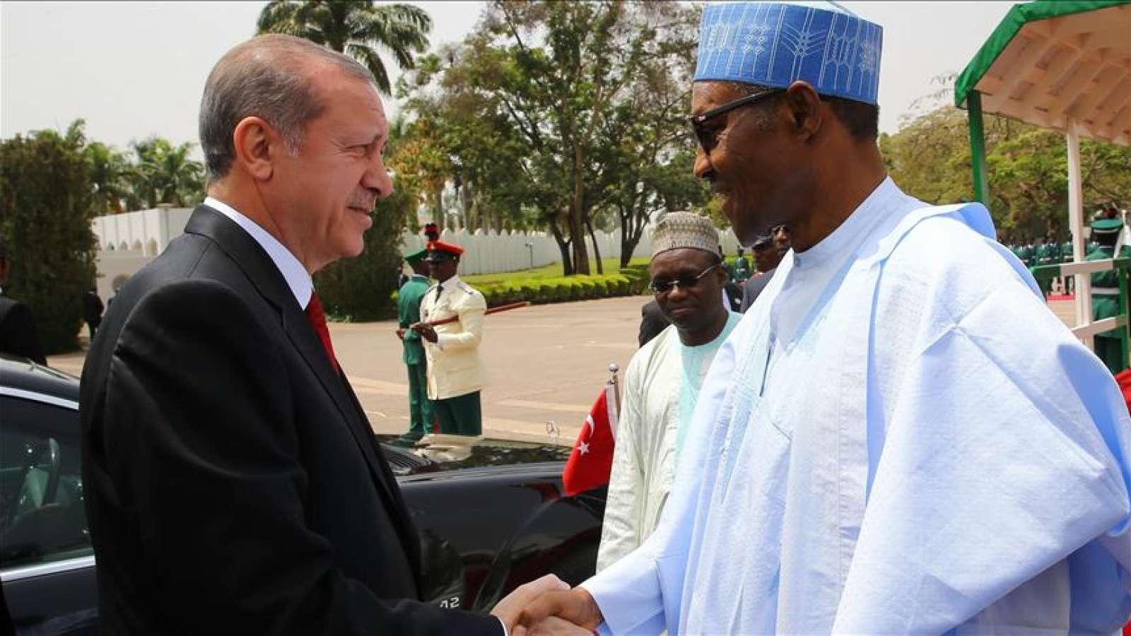 Erdogan and Buhari