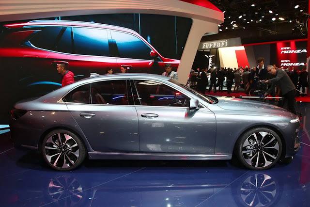 Xe sedan VinFast dài hơn nhóm xe hạng D phổ thông
