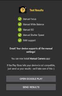 Manual Camera Compatibilit