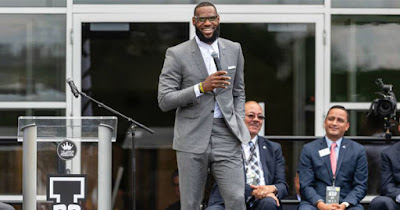 LeBron James, NBA superstar and philanthropist