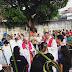 Fieis Católicos comemoram a entrada triunfal de Jesus em Jerusalém