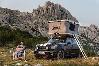 Una forma de acampar con mucho estilo.