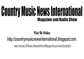 Country Music News International Magazine And Radio Show Apr 3 2019