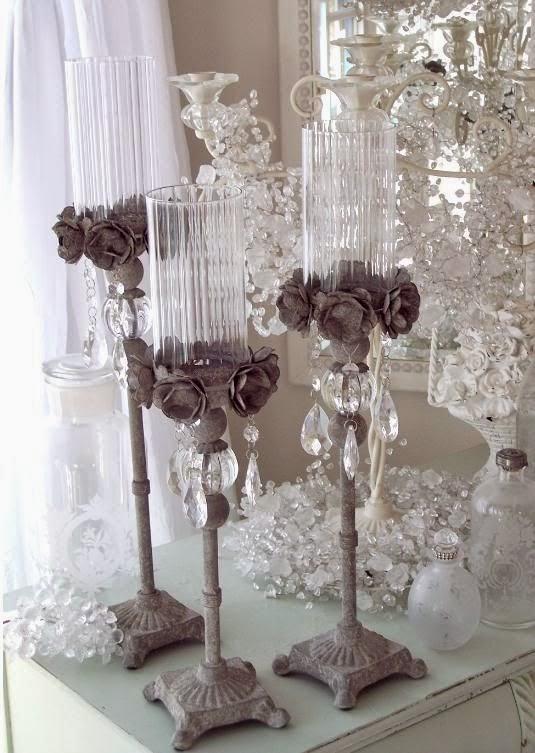 El rincón vintage de karmela: los modernos candelabros, nada que ...