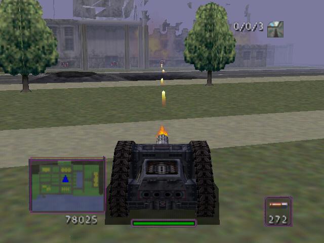 BattleTanx: Global Assault screenshot 1