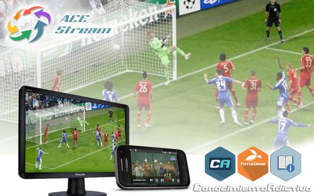ec2e690a95ae2 Ace Stream System es una plataforma de medios que nos permite ver en una  computadora videos y retransmisiones en vivo distribuidos a través de redes  P2P ...