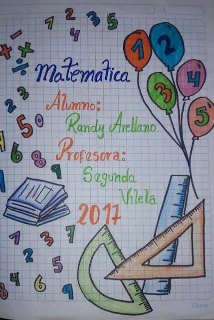 Imágenes de caratula de matemáticas