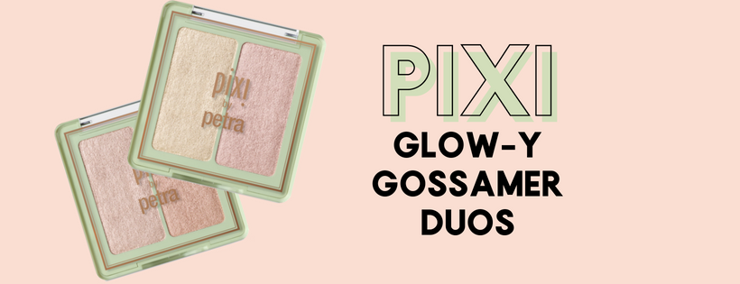 Pixi glow-y gossamer duo, pixi glowy gossamer duo,, pixi beauty, highlighter