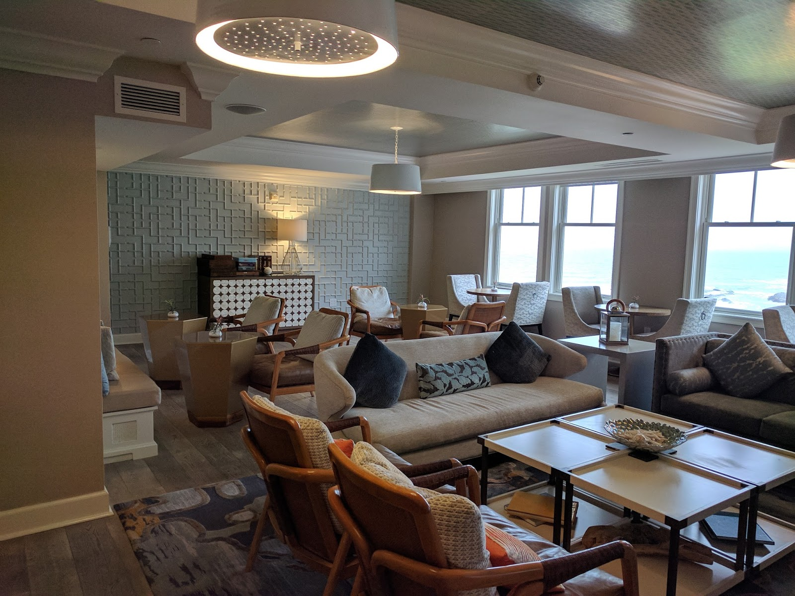 Beautiful The Club Lounge at the Ritz Carlton Half Moon Bay GZ16