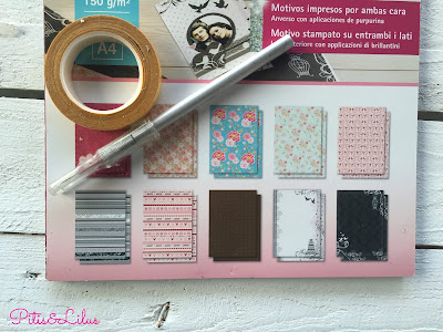 DIY CARPETA CON PINZAS Y PAPEL SCRAP TUTORIAL