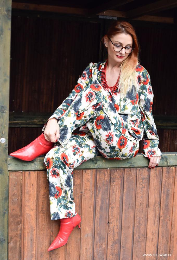 Trend Pyjama, Streetstyle mit Pyjama