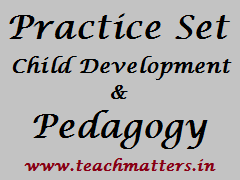 Practice Set - Pedagogy @ www.teachmatters.in