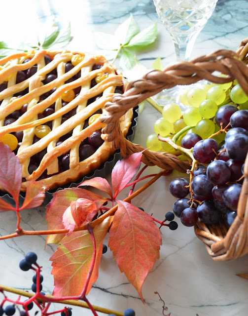 Tarte de Metz aux raisins