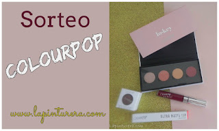 Sorteo con COLOURPOP