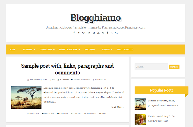 Blogghiamo Beautiful, Responsive, 2 Columns and Minimal Blogger Template                                                                                                                                                                                                                                                 http://blogger-templatees.blogspot.com/2016/05/blogghiamo.html