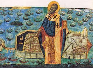 Αποτέλεσμα εικόνας για Το συγκλονιστικό θαύμα του Αγίου Σπυρίδωνα κατά των Παπικών στις 12 Νοεμβρίου του 1716!