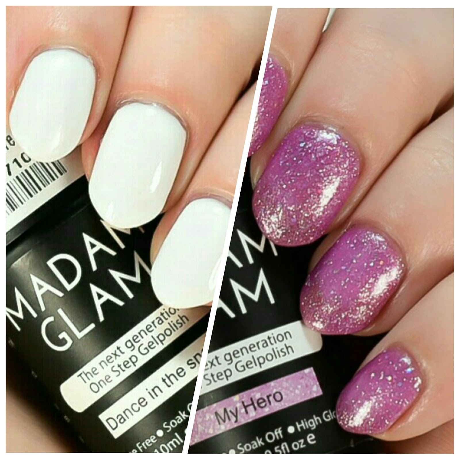 The Polished Perspective: Madam Glam One Step Gel Review
