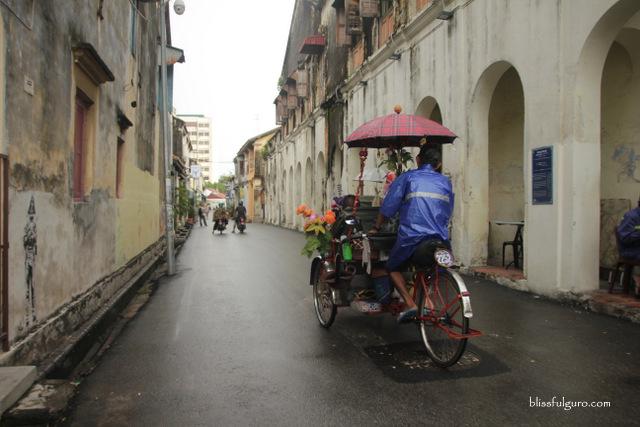 Trishaw Georgetown Penang