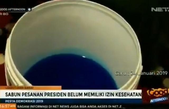Ternyata Sabun Pesanan Presiden Jokowi Rp 2 M Belum Memiliki Izin Kesehatan