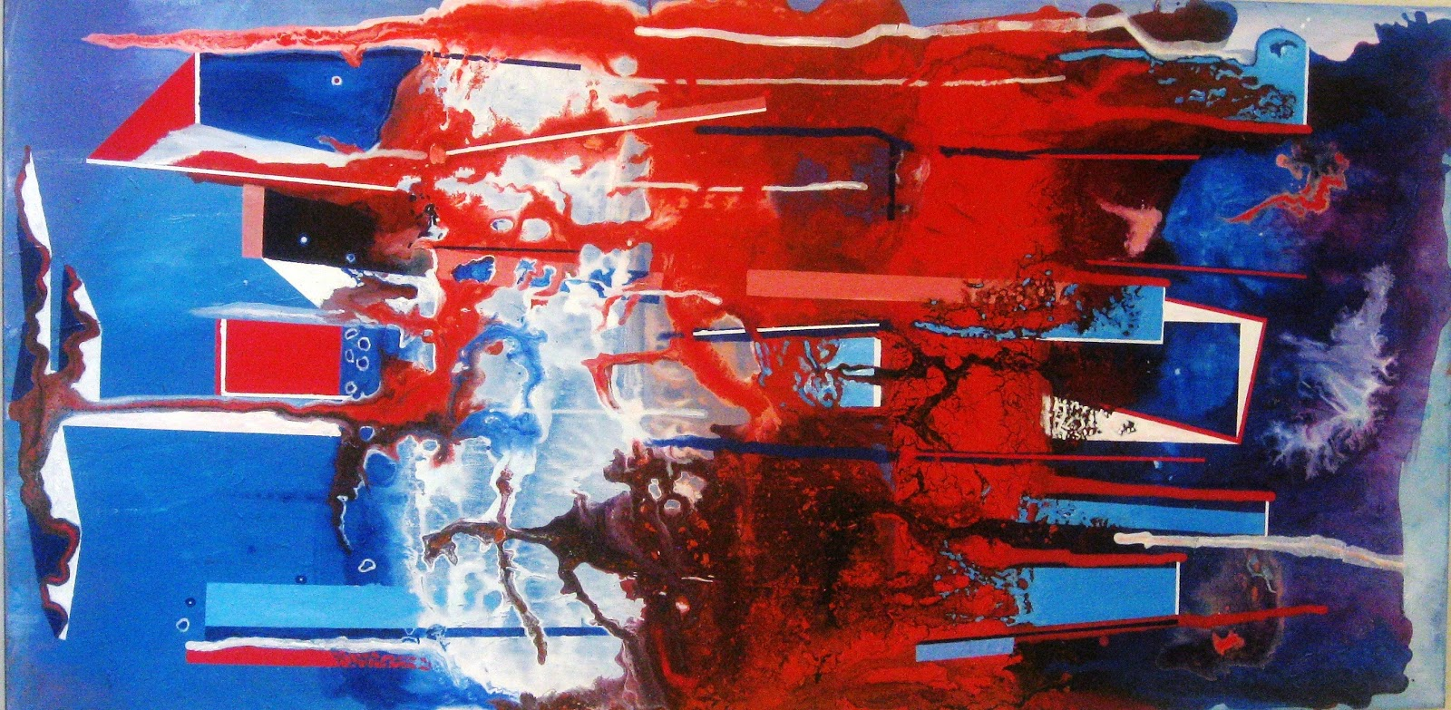 Unled Abstract In Red White And Blue May 2017