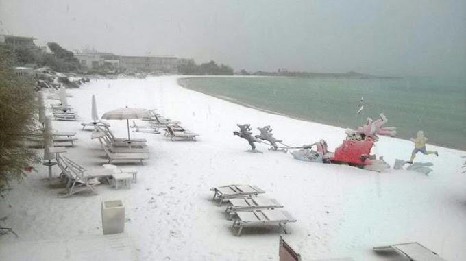 Maltempo: neve al centro-sud. Diversi i disagi