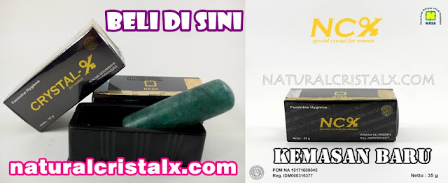 NCX NASA Natural Cristal X Herbal Keputihan Wanita