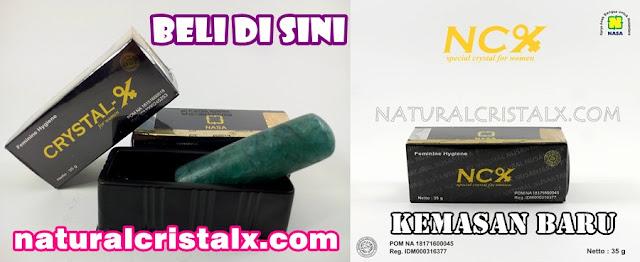NCX NASA Natural Cristal X Herbal Keputihan Wanita