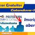 Cursos gratuitos em Catanduva-SP
