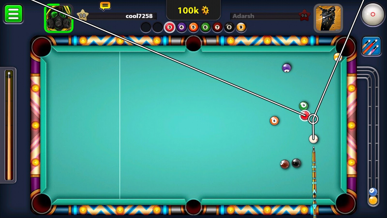 8 Ball Pool 3 12 1 MOD Apk (Extended Stick Guideline, Auto