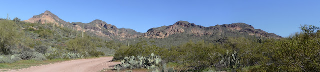 Dome Mountain and surrounding pointy things