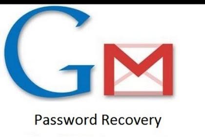 Cara Memulihkan Kata Sandi Password Email Gmail