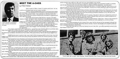 A-Cads - Hungry For Love (1966)