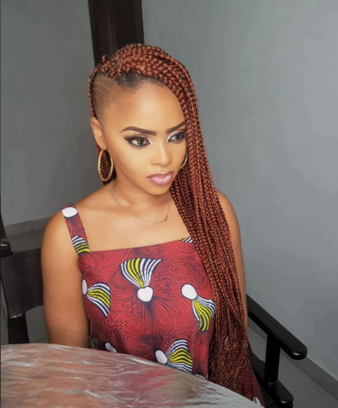 Chidinma Ekile shows off stunning new look