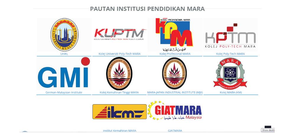 Senarai Ipma Mara Di Malaysia Unit Perkhidmatan Bimbingan Kaunseling Mrsm Pasir Salak