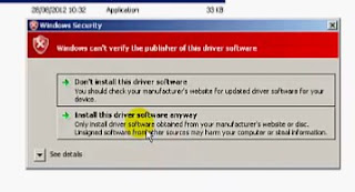 Windows Security - Install Driver Software Anyway