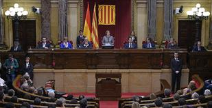 New president of Spain's Catalonia visits jailed ex-regional ministers