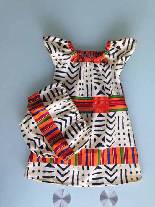 Ankara Baby Skirt Designs (5)