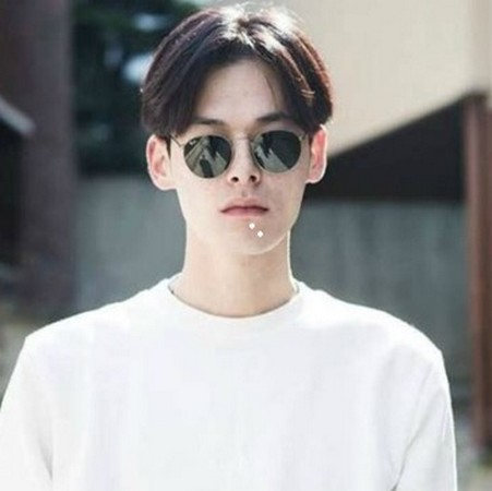 nama model rambut pria korea